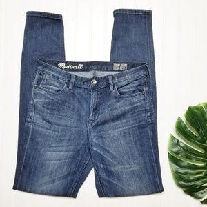 Madewell | Skinny Skinny High Riser Jeans | 28
